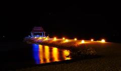 Pier @ El Cid marina (the crazy french man) Tags: night marina mexico hotel pier time cancun elcid puertomorello
