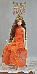 e@tsy (Jolly smiley) Tags: doll hand dress made enchanted