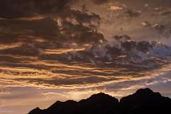 Abendrot (Ernst_P.) Tags: cloud clouds tirol österreich himmel wolke wolken nubes aut abendrot inzing bahnstrase23b