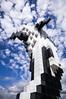 Douglas Coupland's Digital Orca (_K3_8930) ([Rossco]:[www.rgstrachan.com]) Tags: holiday canada art public vancouver britishcolumbia installation canadaplace douglascoupland 2014 vancouverconventioncentre jackpooleplaza digitalorca