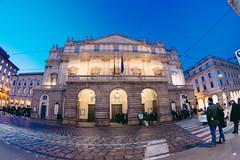 La Scala (LorenzoTeds) Tags: teatro pentax milano fisheye scala 1017 lascala