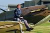 P7350, Supermarine Spitfire, Battle Of Britain Memorial Flight, RAF Coningsby (Eeee Bi Gum) Tags: lincolnshire spitfire raf battleofbritainmemorialflight wraf supermarinespitfire coningsby 41squadron rafconingsby