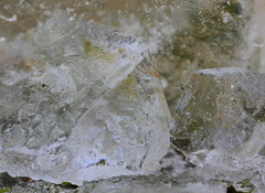 Ice abstract (mennomenno.) Tags: ice frozen bucket meadow ijs emmer vorst weliand
