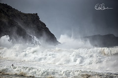 Stormy Seas at Clogher Beach (Eimhear Collins) Tags: sunrise seascapes sunsets bigwaves dinglepeninsula countykerry blasketislands stormyseas fermoylestrand skelligislands anfearmarbh dunquinpier brianhopper clogherbeach coomeenolebeach eimhearcollinsphotography