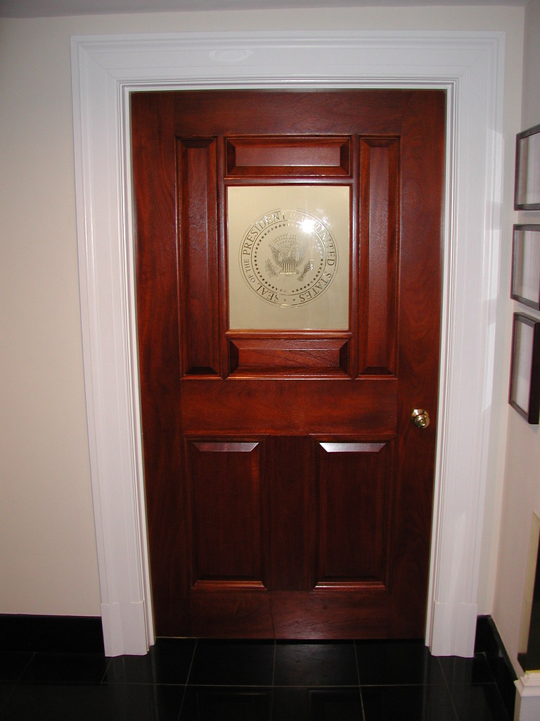 Entry Door Executive Dining Room White House West Wing