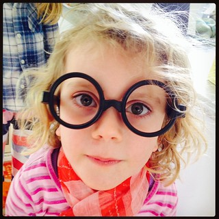 365/323 • Harry Potter's sidekick - photo by #M • #2014_ig_323 #4yo #harrypotter #glasses #spectacles