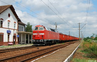 DB Schenker Rail Romania / Logistic Center Danubius 83 0905, Sofronea, 19-7-2009