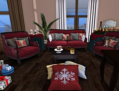 Kirsten and Hiram House Winter 2014 1A (kirstentacular) Tags: house video furniture alouette decor trompeloeil whatnext happymood abiss barnesworthanubis applefall tresblah secondspaces cheekypea studioskye laqdecor