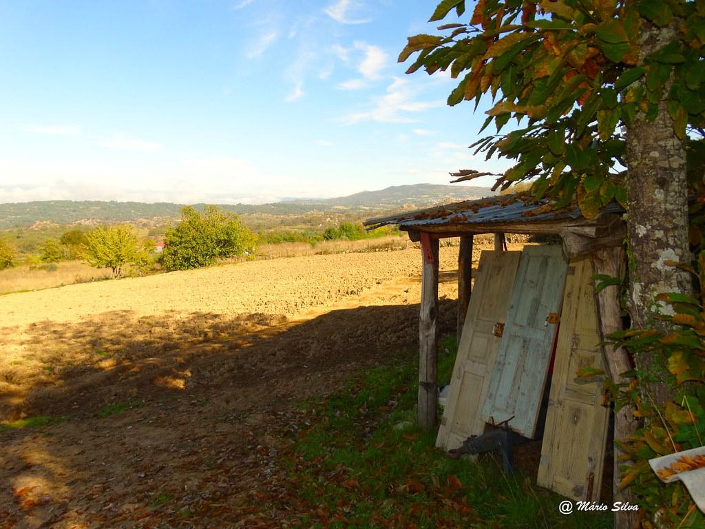 Águas Frias (Chaves) - ... refúgio no meio do campo ...