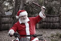 Creepy Santa (Richard Elzey) Tags: santa eve chris red holiday playing beer hat drunk reindeer weird crazy dancers florida bad drinking creepy spooky suit elf weihnachtsmann kris fatherchristmas santaclaus jolly claus mad looney kriskringle happyholidays merrychristmas papainoel grumpy perenoel chrismas clause helper stnick kringle moroz northpole 2014 ded redsuit viejopascuero saintnickolas comingtotown dedmoroz jultomten mikulas verymerry prancers hoteiosho dunchelaoren