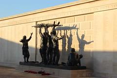 30th December (catcat78) Tags: winter light shadow statue memorial remember arboretum national nationalmemorialarboretum
