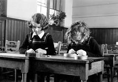 Harris Academy (Dundee City Archives) Tags: school 1930s education classroom teaching studying pupils perthroad harrisacademy