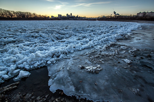 Winter, Kaw Point