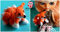 Pequeño zorrito BM Dolls /little fox BM Dolls