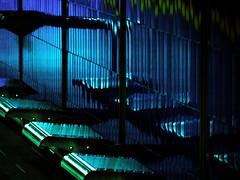 balade en mtro 2 (photosgabrielle) Tags: city blue urban underground subway metro montreal tube streetphotography bleu benches ville urbain bancs villesouterraine photosgabrielle