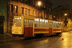 ЛМ-68М (podhmelkom) Tags: трамвай машка лм лм68м лм68 ленинградскиймоторный