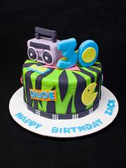 80s Cake (SweetlyWild) Tags: birthday ohio cake 80s milford sweetlywild