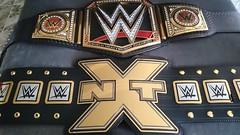 (imranbecks) Tags: logo championship belt big x replica network title wwe nxt