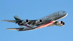 Emirates A380 A6-EDS (deanhammersley) Tags: sky manchester flying super climbing a380 takeoff jumbo emiratesa380 flyinga380 a6eds