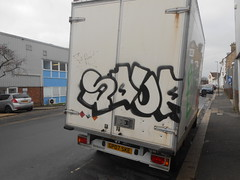 SOUP (SeeItDaily) Tags: soup graffiti hove synmob