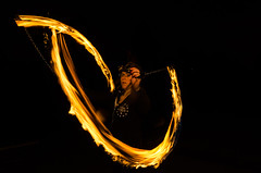 All about Fire (vipmig) Tags: nightphotography people woman lightpainting motion girl female night fun fire person movement darkness magic jenny performance entertainment fantasy performer firespin firepoi blackness firepower fireperformance firespinners fireart firepainting firenation fireartist artoffire