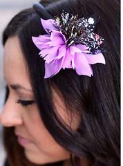 Glimpse of Malibu Purple Headband K2 P6520-3
