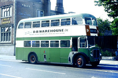 Slide 019-93 (Steve Guess) Tags: uk england bus green buses suffolk transport corporation v gb regent ipswich aec