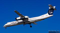 Horizon Air for Alaska Airlines - N449QX (InSapphoWeTrust) Tags: california usa losangeles unitedstates unitedstatesofamerica northamerica asa lax dash8 qx alaskaairlines losangelesinternationalairport dh8 q400 klax horizonair as dhc8400 bombardierdash8q400 qxe dhc8q400 n449qx