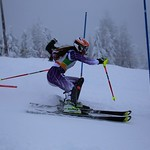 Red Mountain Teck Open, Kristina Natalenko (Grouse Tyee) earns trip to CWG and Topolino PHOTO CREDIT: Steve Fleckenstein