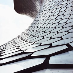 Escamas (D. Welsh) Tags: travel art museum architecture square mexico arquitectura perspective museo iphone soumaya iphoneography instagram