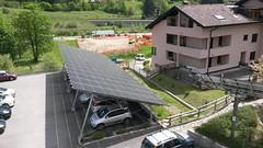 tettoia fotovoltaica sede