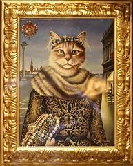 Duchessa di Venezia (hrunge) Tags: portrait italy cat painting gallery portret venezia sanmarco veneti canoneos6d lensef70200mmf28lisiiusm may2016 hrunge duchessadivenezia venetianroyalty