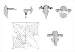 Slave 1 v2.0 diagram preview (Mdanger217) Tags: max danger star 1 origami diagram wars slave inkscape