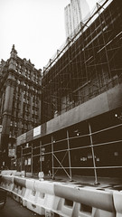 New York is a Spring Festival (Jeffrey) Tags: street city nyc newyorkcity urban ny newyork building architecture buildings design spring construction junk downtown manhattan parkrow may cities lowermanhattan civiccenter ugliness downtownmanhattan 2016 may2016 spring2016