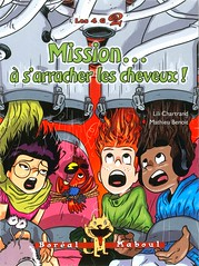 Mission ...  s'arracher les cheveux! (Vernon Barford School Library) Tags: new fiction 2 two hair french reading book high library libraries famous reads kidnapping books read paperback 2nd cover junior second novel celebrities covers bookcover middle missions vernon lili franais recent bookcovers languages paperbacks mathieu novels fictional missingperson foreignlanguages kidnappers foreignlanguage missingpeople barford lote missingpersons softcover secondlanguage chartrand languagesotherthanenglish vernonbarford softcovers mathieubenoit secondlanguages lilichartrand bentoit les4g boralmaboul 9782764623688