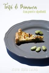 Torta di Primavera (Storie dalla Cucina) Tags: food picnic pasta fave ricotta torta cibo verdure foodblog sfoglia porri foodblogger cipollotti tortasalata