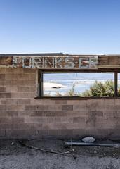 Drinks (autobahn66.com) Tags: california abandoned desert decay surreal saltonsea