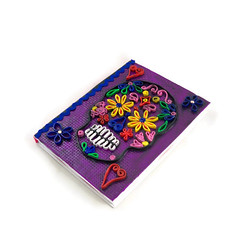 Sugar skull sketch book (higirlsdesigns) Tags: skull sketchbook clay polymer pcagoe