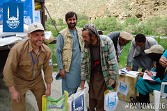 Islamic Relief Ramadan food distribution in Bamyan, Afghanistan