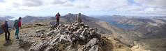Summit panorama (Simon Varwell) Tags: knoydart