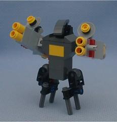 Daemon 2 (Mantis.King) Tags: lego scifi futuristic mecha daemon mech moc microscale mechaton mfz mf0 mobileframezero