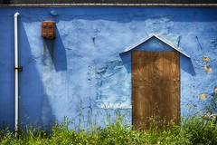 Former Shop (PAJ880) Tags: blue abandoned beach shop ma business former hull nantasket