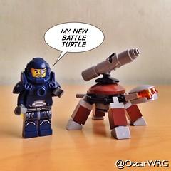 #LEGO_Galaxy_Patrol #LEGO #Battle #Turtle #BattleTurtle #Mech @lego_group @lego @bricksetofficial @bricknetwork @brickcentral (@OscarWRG) Tags: lego turtle battle mech legogalaxypatrol battleturtle