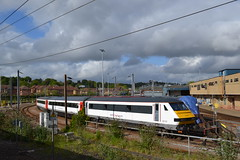 Abellio Greater Anglia MK3 DVR 82102 & Turbostar 170204 (Will Swain) Tags: norwich 14th may 2016 train trains rail railway railways transport travel uk britain vehicle vehicles england english norfolk anglia south east city crown point depot shed yard abellio greater mk3 dvr 82102 turbostar 170204 driving van trailer class 170