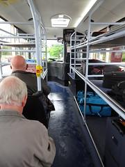Shuttle away (stevenbrandist) Tags: uk travel bus rain parking luggage bu manchesterairport travelogue longstay