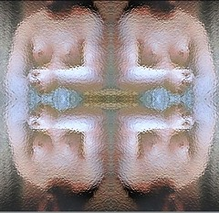 2016-05-29 symmetrical blurred nude 2 (april-mo) Tags: woman art collage painting nude mirror nu blurred symmetry flip symmetrical womanportrait blurredportrait blurrednude blurredart blurredpainting
