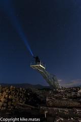 LightPainting amb Carles Calero (kike.matas) Tags: lightpainting luz canon noche nocturna rayo troncos seudurgell canonef1635f28liiusm kikematas canoneos6d carlescalero lightroom4