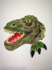 (pinkvanillacakes@outlook.sg) Tags: 3dcakessingapore trexcake dinosaurcake tyrannosaur