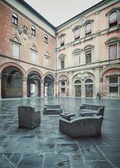 503 (Stadtromantikerin) Tags: city urban italy art architecture buildings europe bologna sculptures