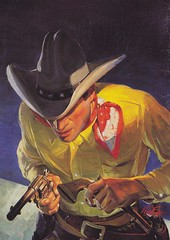 Robert Lesser / Pulp Art / Bild 93 (micky the pixel) Tags: art illustration painting buch book cowboy kunst pulp livre wildwest pulpart robertlesser theoklahomakid wildwestweekly hwinfieldscott